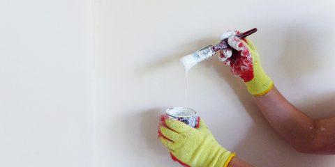 Eerste keer schilderen