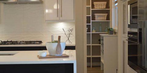Opbergruimte keuken